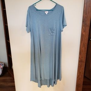 Carly Swing high-low Dress